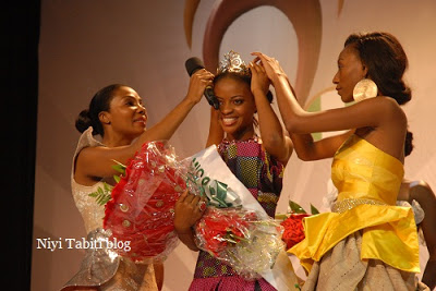 PHOTOS FROM MISS NIGERIA 2011 EDITION IN LAGOS