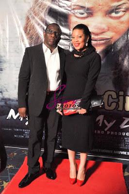 Romance: Monalisa Chinda and Lanre Nzeribe steps out