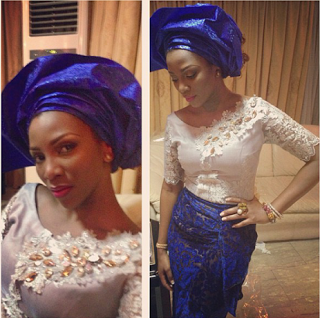 Genevieve Nnaji, Veronica Ebie-Odeka and others at Sharon Adeleke's wedding