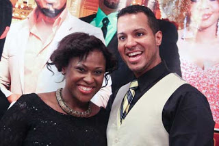 Uche Jombo welcome first baby with American Husband, Rodriguez