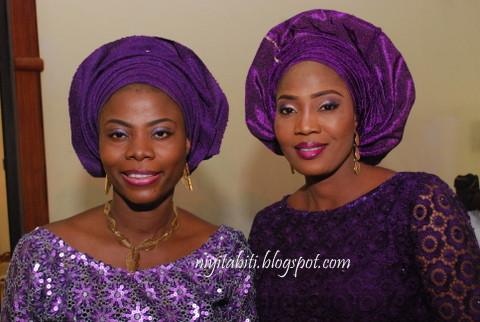 Nigerian women in latest fashion and style at Bode Oshinusi burial in Ijebu-Ode