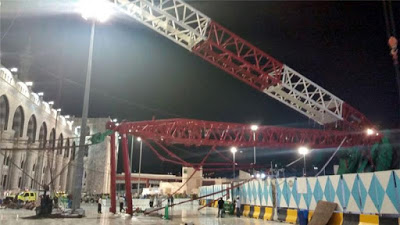 Families of Six Nigerians killed in Saudi mosque crane accident to receive N70 million each