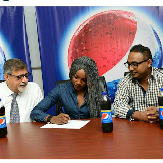 Seyi Shay signs Pepsi Endorsement deal