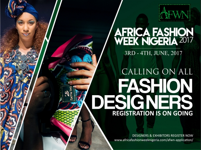 Africa Fashion Week Nigeria call for designers