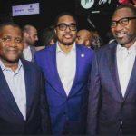 Aliko Dangote,Paddy Adenuga and Femi Otedola- Nigeria's wealthiest