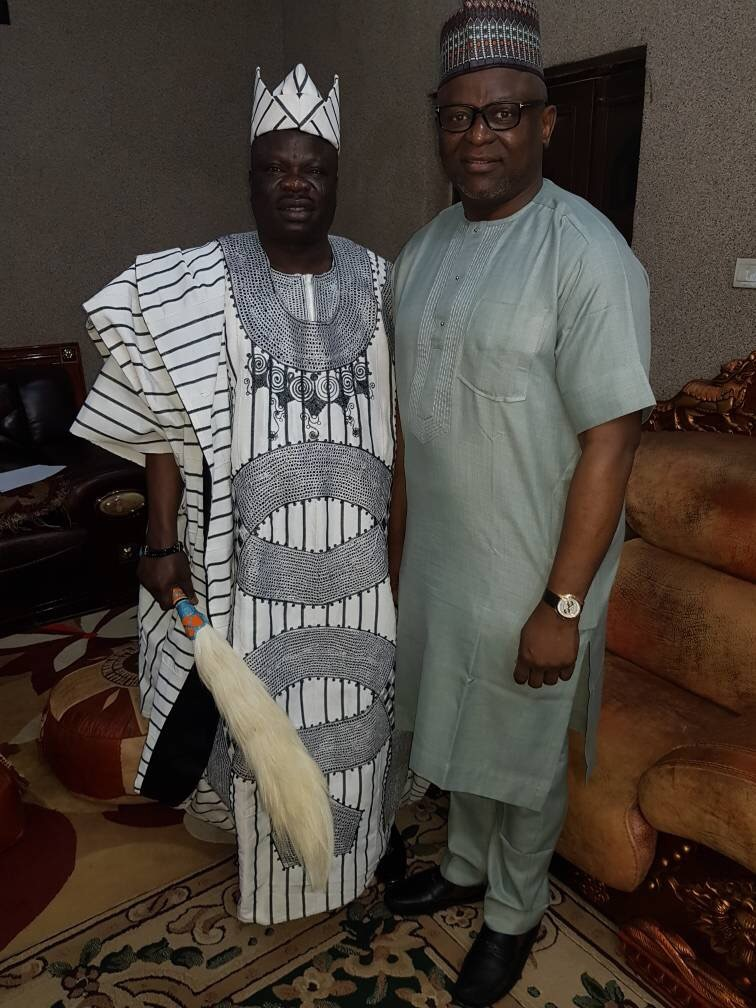 FirstBank MD visits,commiserates with Olofa of Offa