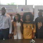 from Left to Right: Guy Futi, Managing Director, Jumia Food, Chioma Odimegwu, Head of Marketing and Vendor Success, Jumia Food and Jumia Party Nigeria, Omolara Adagunodo, Managing Director, Jumia Travel & Olukayode Kolawole, Head Public Relations, Jumia