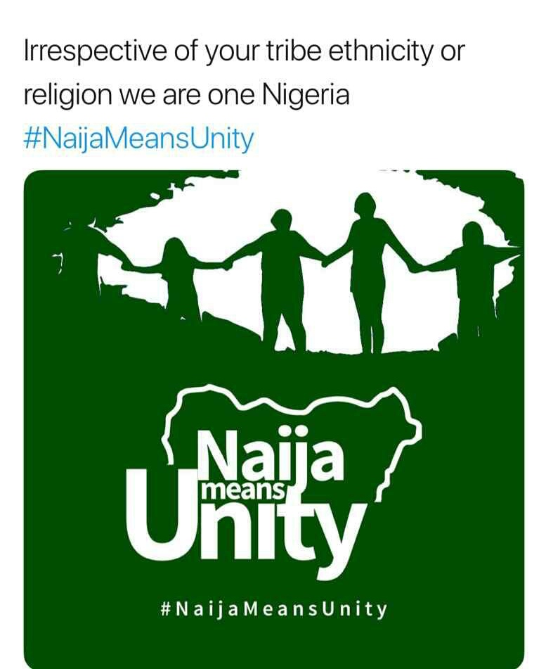 Nigerians Speak In Unity With #Naijameansunity