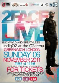LONDONERS READY TO  ROCK 2FACE LIVE IN UK SHOW