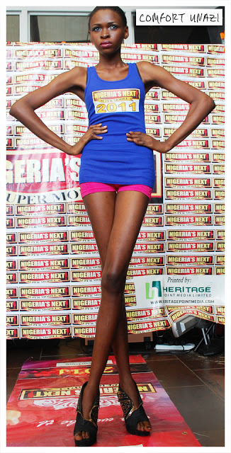 THE ROAD TO NIGERIA NEXT SUPERMODEL 2011 CONTEST…