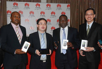 HUAWEI ENTERS NIGERIAN MOBILE PHONE MARKET