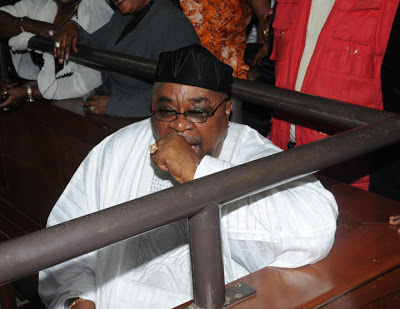 CORRUPTION TRIAL:ALAO AKALA IN COURT, REPRESENTED BY 20 LAWYERS