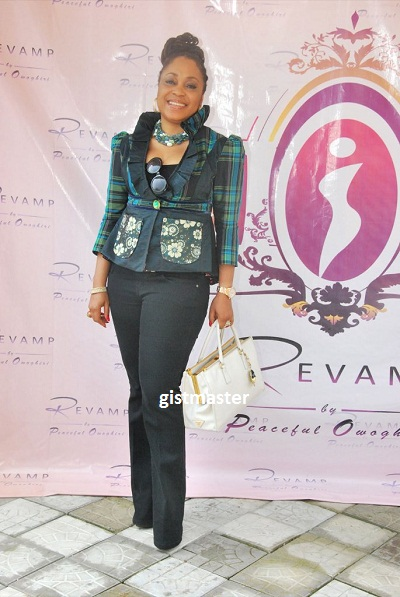 PHOTOS: PEACEFUL OWOGHIRI LAUNCH REVAMP COUTURE IN LAGOS