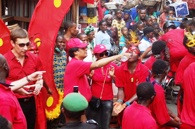 ESCUDO ROJO CARNIVAL IN LAGOS-THE MAGICAL COLORS OF SHARED LOVE