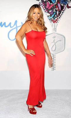 WEIGHT LOSS:MARIAH CAREY's SUPER LOOK AFTER CHILDBIRTH
