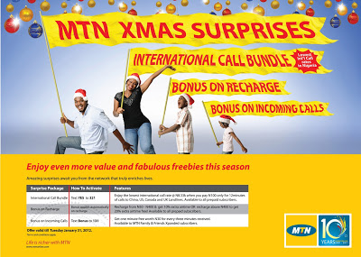 XMAS SURPRISES WITH MTN!