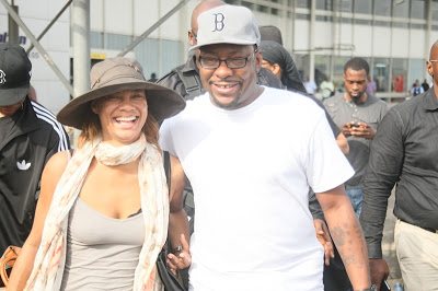 LATEST NEWS:BOBBY BROWN ARRIVES NIGERIA FOR CONCERT
