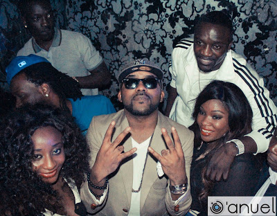 INI EDO,AKON,PSQUARE OTHERS ROCK BANKY W's BIRTHDAY PARTY