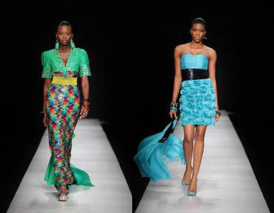 LATEST NEWS:MODELS PROTEST 100 POUNDS PER DAY PAY AT ARISE AFRICA FASHION WEEK 2012