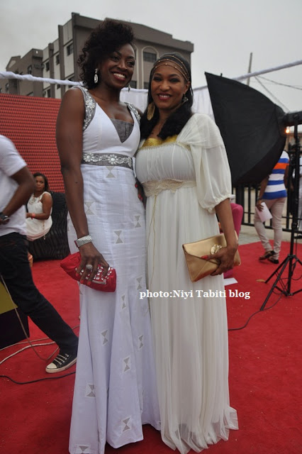 LATEST PHOTOS:CELEBS ON THE RED CARPET AT ENCOMUIM WHITE GIG IN LAGOS