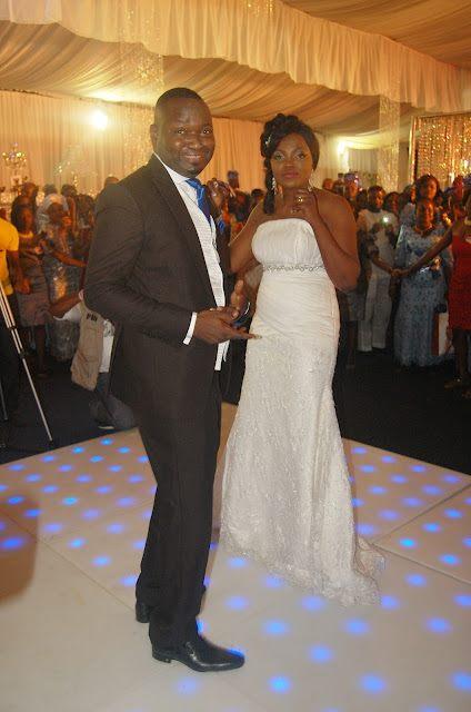 FUNKE AKINDELE WEDDING PHOTOS+INI EDO, GENEVIEVE NNAJI AND OTHERS GRACED THE ALL STAR WEDDING