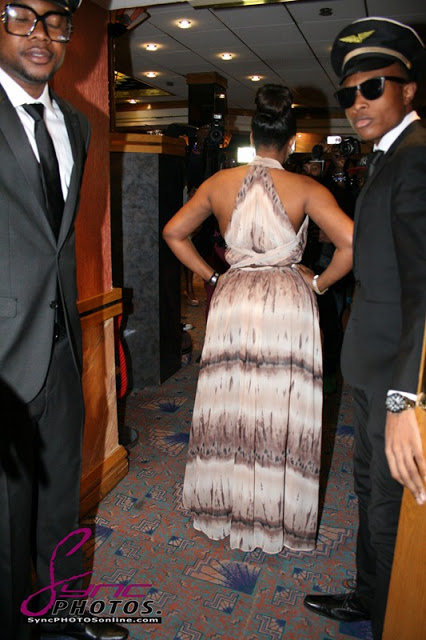 IKEBE SUPER:OMOTOLA SHOW OFF AT LONDON's PREMIERE OF LAST FLIGHT TO ABUJA