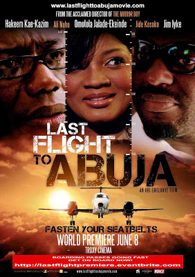 LAST FLIGHT TO ABUJA-FASHION FINEST PRESS RELEASE