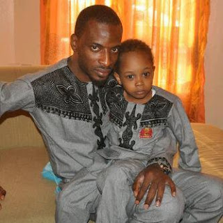 Photo: 9ice and son Zion