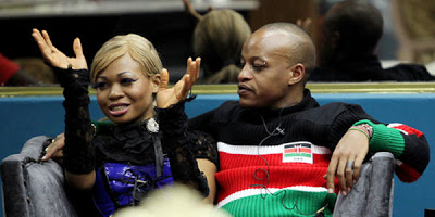 Goldie getting married to Prezzo in February-TheNETNG