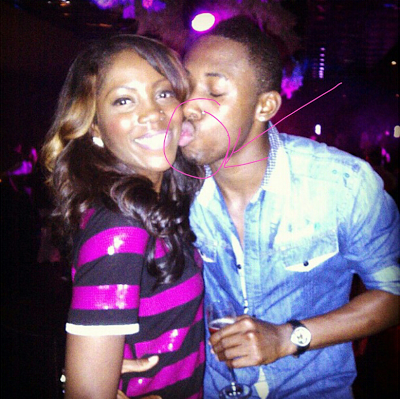 The mouth of the beholder-Tiwa Savage and Efe Tommy at it