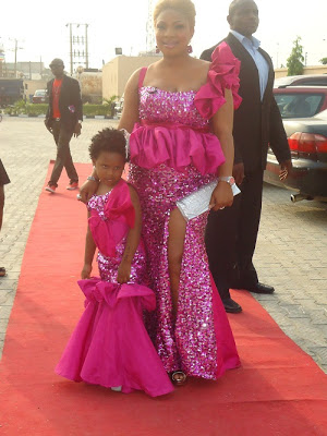 Laide Bakare's daughter is sweet