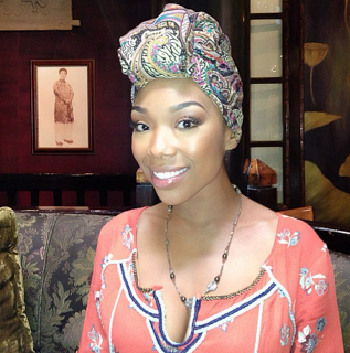 Photo:Brandy the iconic style queen Nubian look