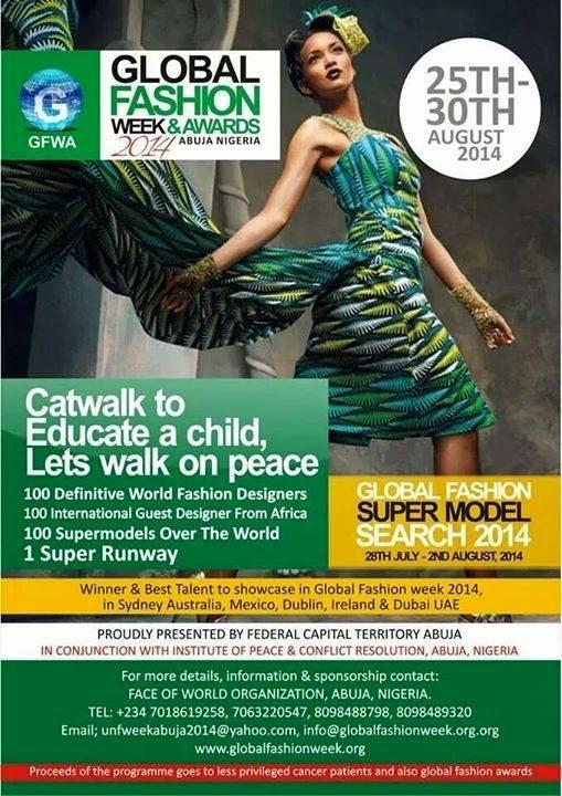 Global Fashion Week Abuja 2014 Set To Host Patience Jonathan,Others