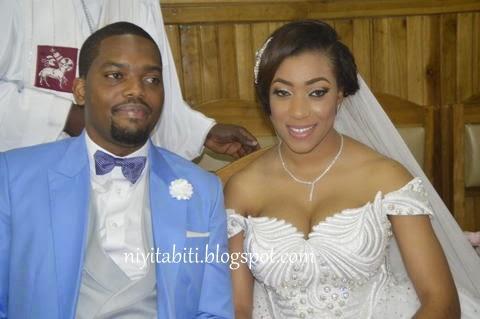 Wedding Photos:Senator Florence Ita Giwa's daughter,Koko weds Chimaobi Obioha