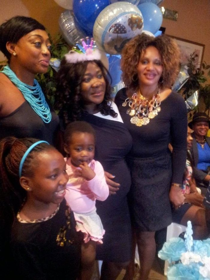 Photo:Mercy Johnson Baby Shower in the US