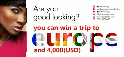 Pearl Look Beauty Pageant is here. Win a trip to Europe and other prizes