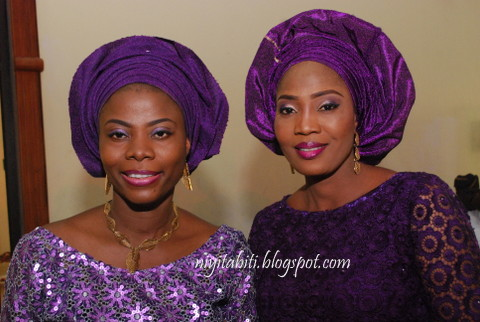Nigerian women in latest fashion and style at Bode Oshinusi burial in Ijebu-Ode