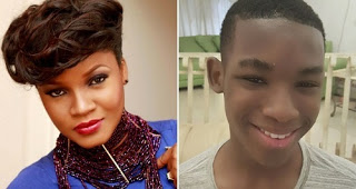 That moment when Omotola Ekeinde's son got birthday wishes from Man. City and Liverpool!