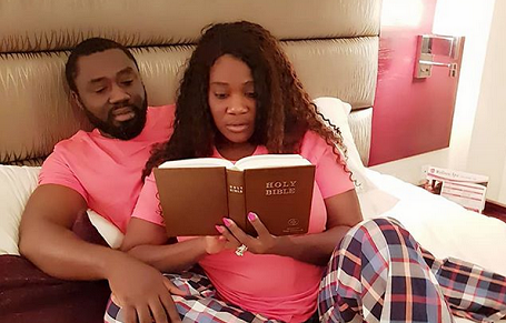 Mercy Johnson denies marriage in trouble