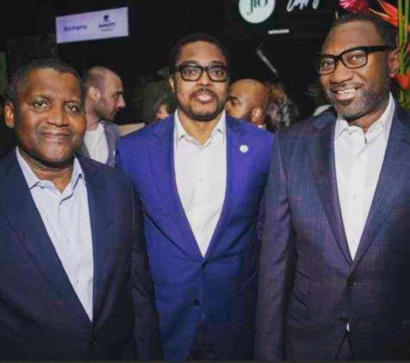 Aliko Dangote,Paddy Adenuga and Femi Otedola- Nigeria's wealthiest