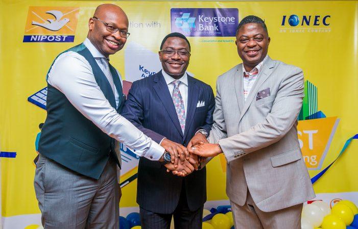 Keystone Bank Partners NIPOST, Launches Agency Banking