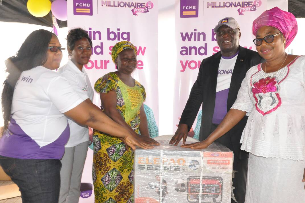 """FCMB Produces More Millionaires in First Draws of 'FCMB Millionaire Promo Season 5"""""""