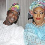 Olujonwo Obasanjo and Wife Tope