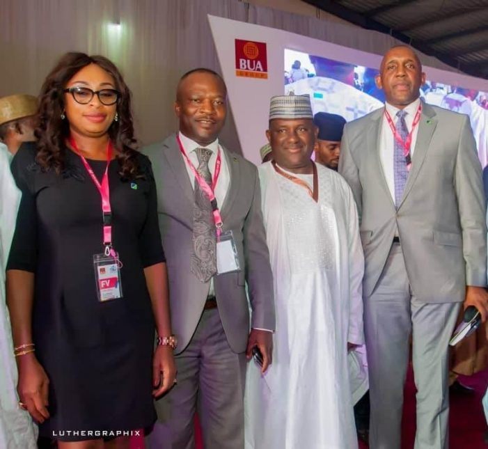 BUA Group Multi-Billion Naira Cement Factory Co-Funded by Fidelity Bank,Opens in Sokoto