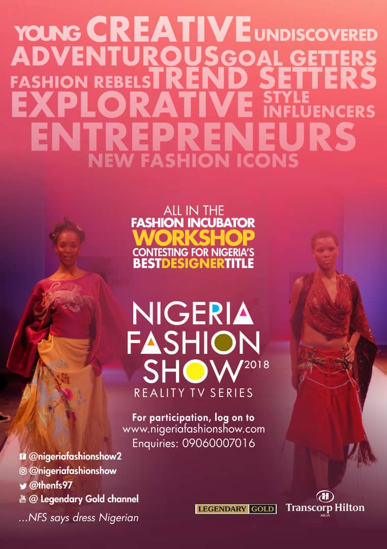 NIGERIA FASHION SHOW IS BACK,BIGGER AND BETTER