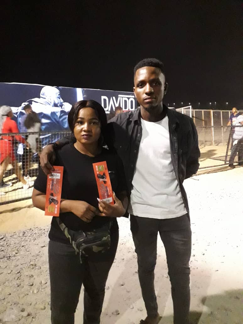 #FirstBankIssaVybe Winners Enjoy Exciting Moments at Davido's Concert