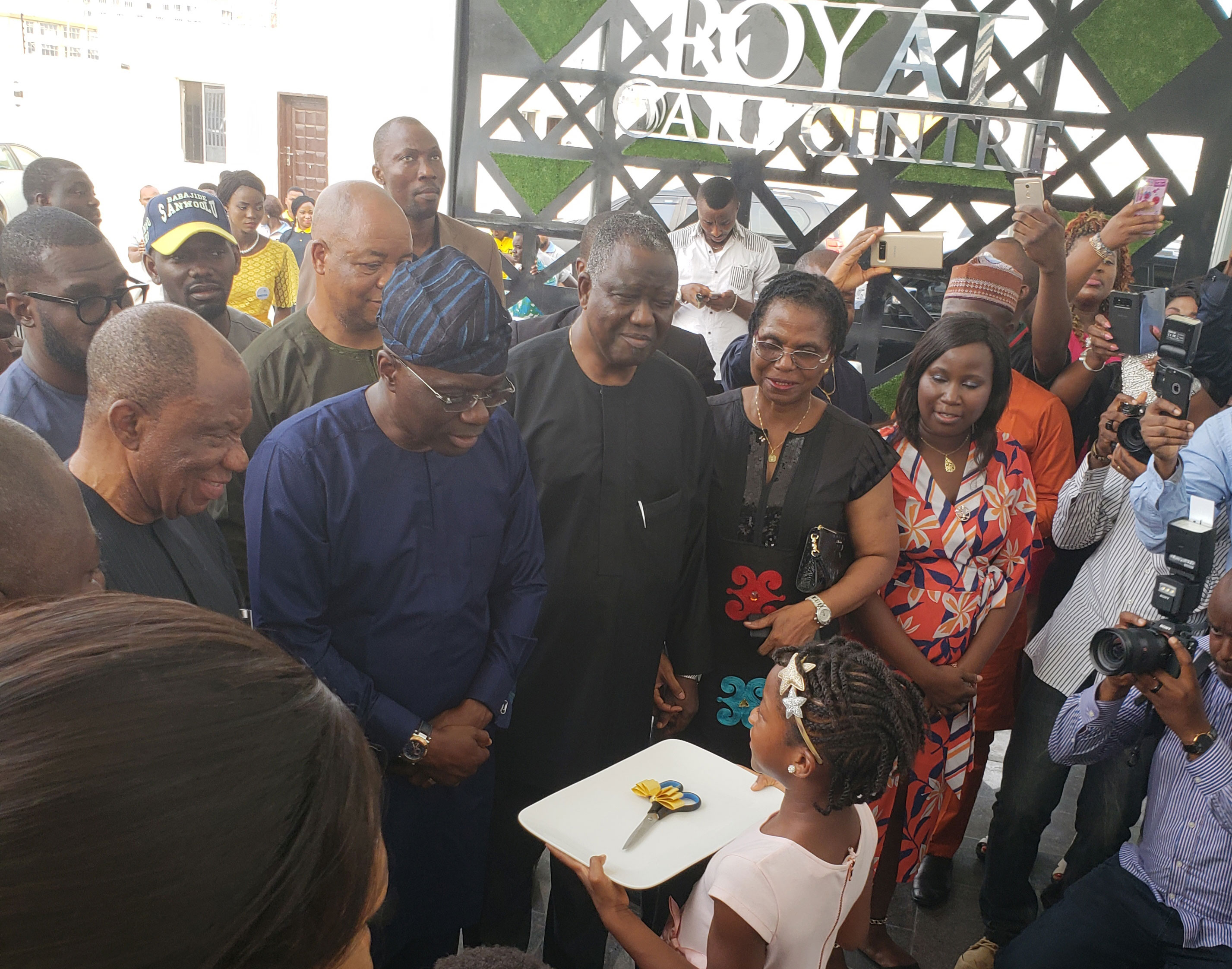 Sanwo-Olu declares Royal Oaks Events Centre Open in Lagos