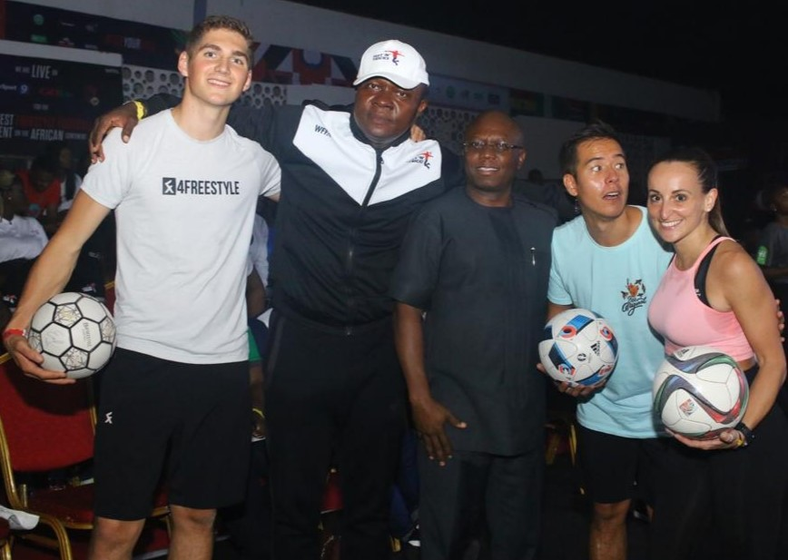 Heritage Bank African Freestyle Football