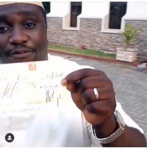 man who offered Tacha money